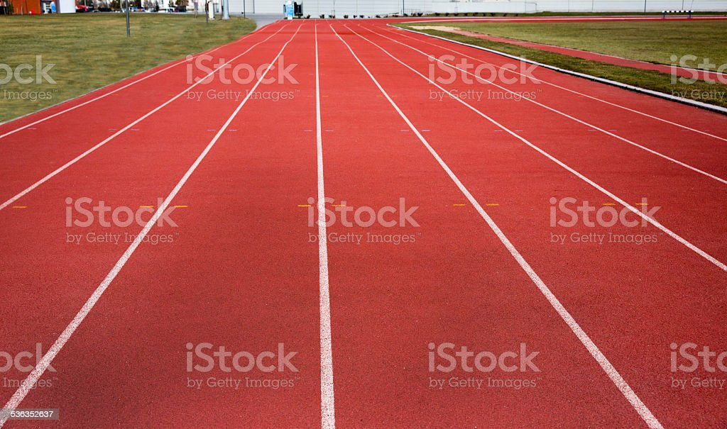 track empty stock photo
