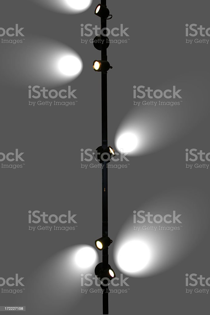 Track Lights -23 royalty-free stock photo