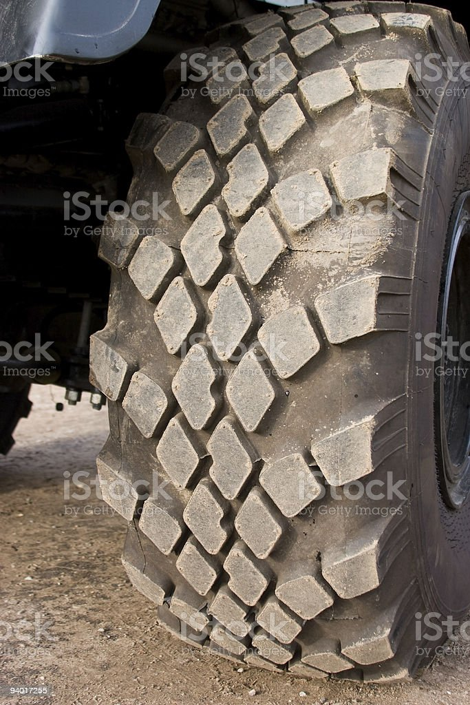 track of wheel royalty-free stock photo