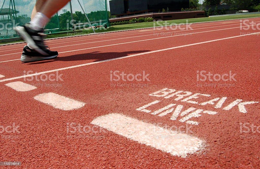 track race royalty-free stock photo