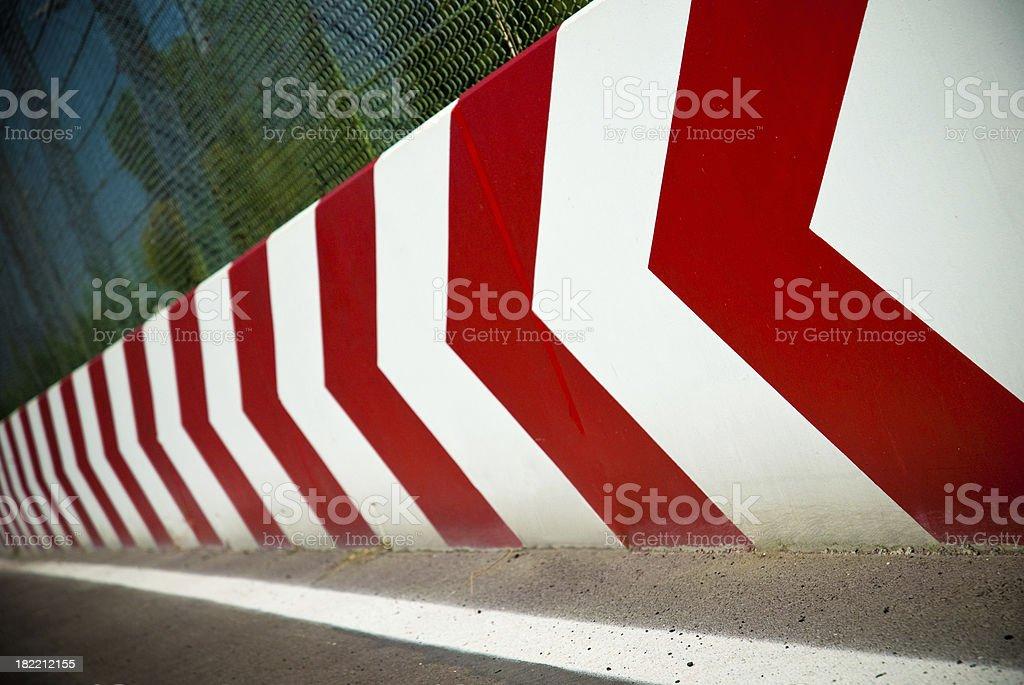 Track wall royalty-free stock photo