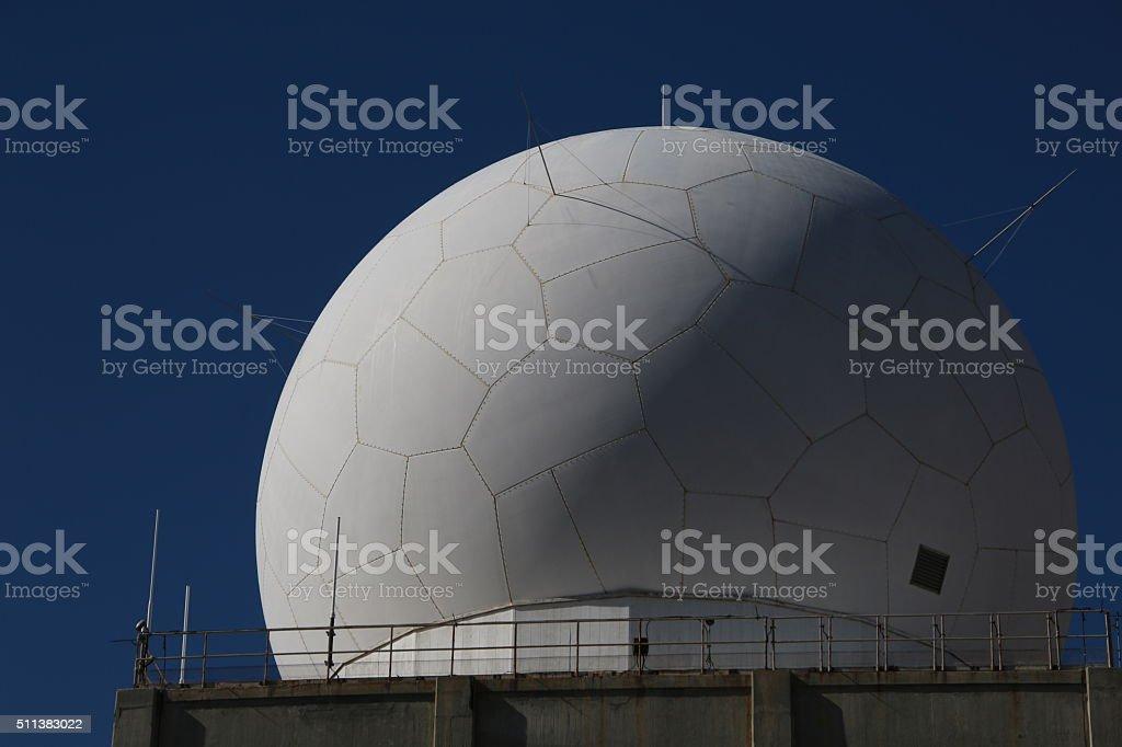FAA Tracking Dome stock photo