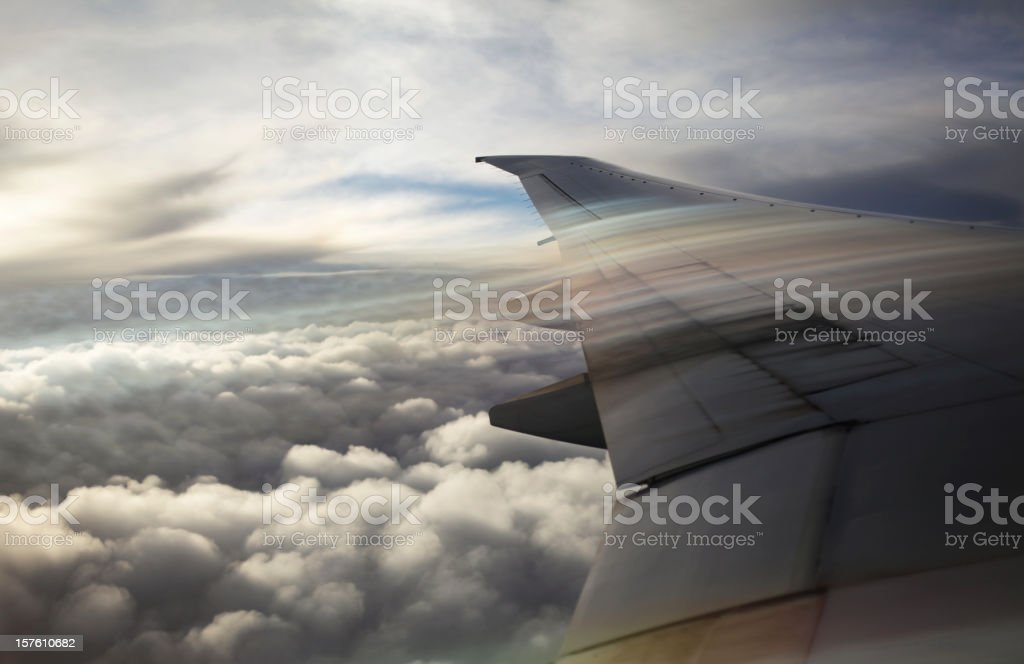 Tracks of Air royalty-free stock photo