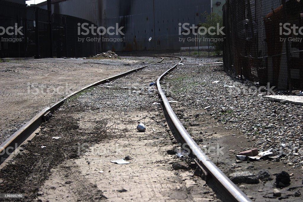 Tracks To Nowhere stock photo