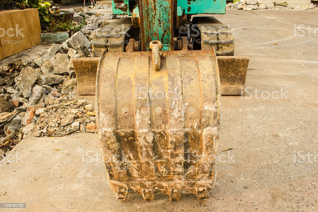 track-type loader stock photo