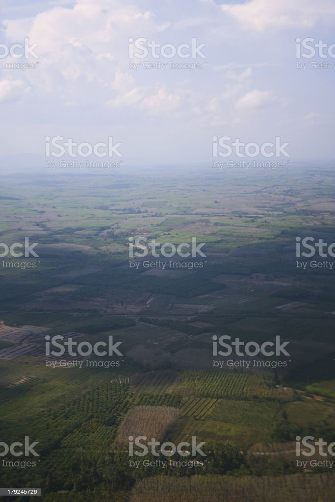 Tract of land. royalty-free stock photo