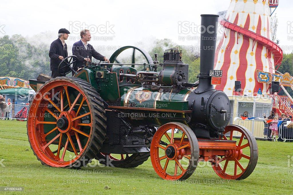 Traction Engine stock photo
