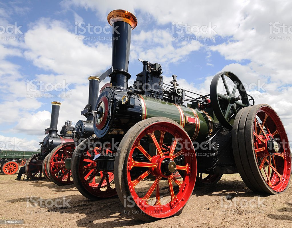 Traction Engines royalty-free stock photo