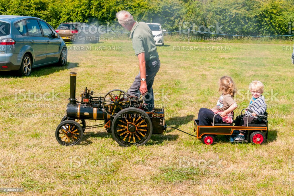 Traction Engines - Prestwood stock photo