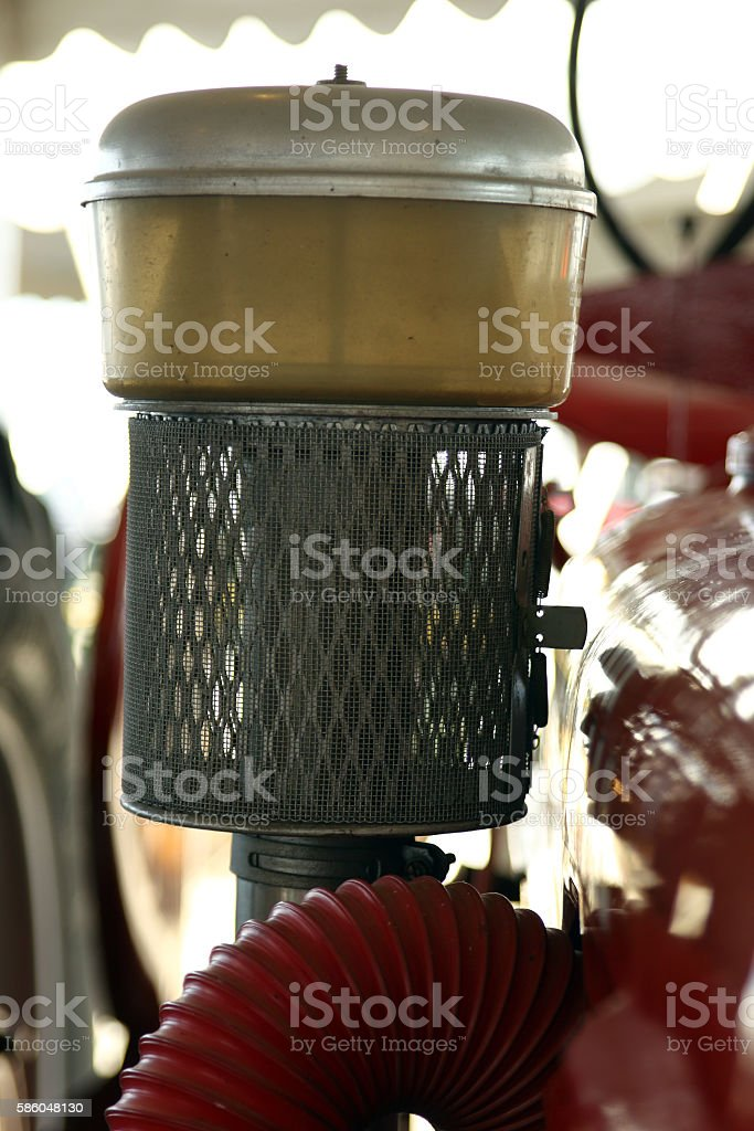 Tractor Air Cleaner stock photo
