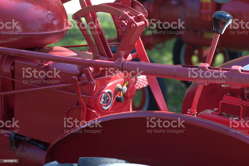 Tractor Detail royalty-free stock photo