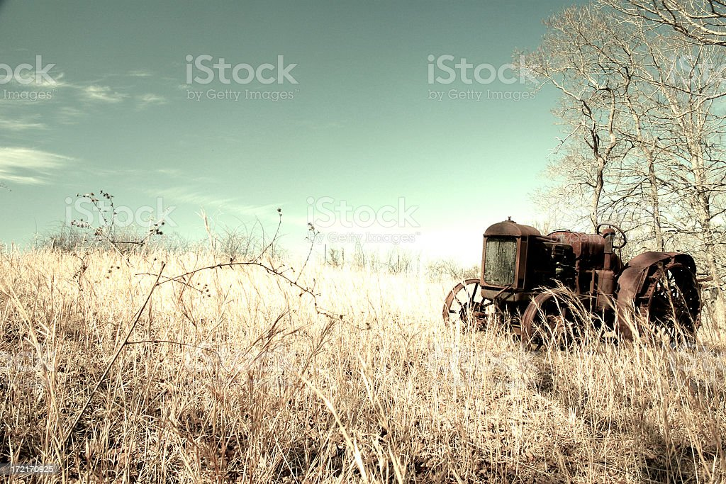 tractor filter stock photo