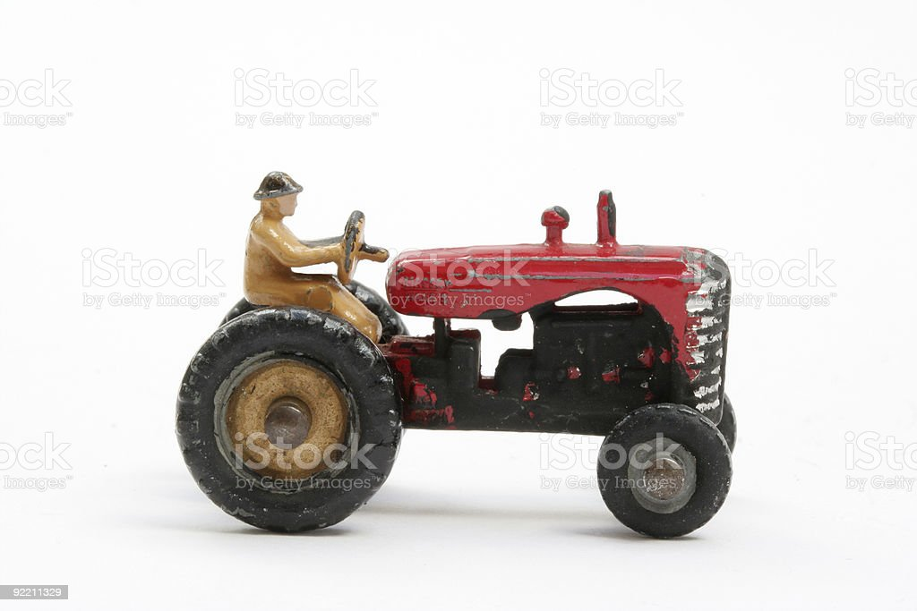Tractor model royalty-free stock photo