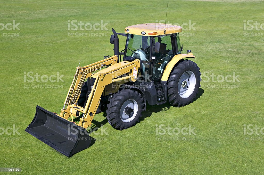 Tractor royalty-free stock photo