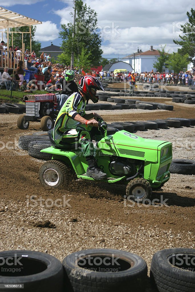 Tractor Racing royalty-free stock photo