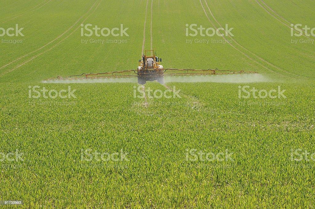 tractor sprayer royalty-free stock photo