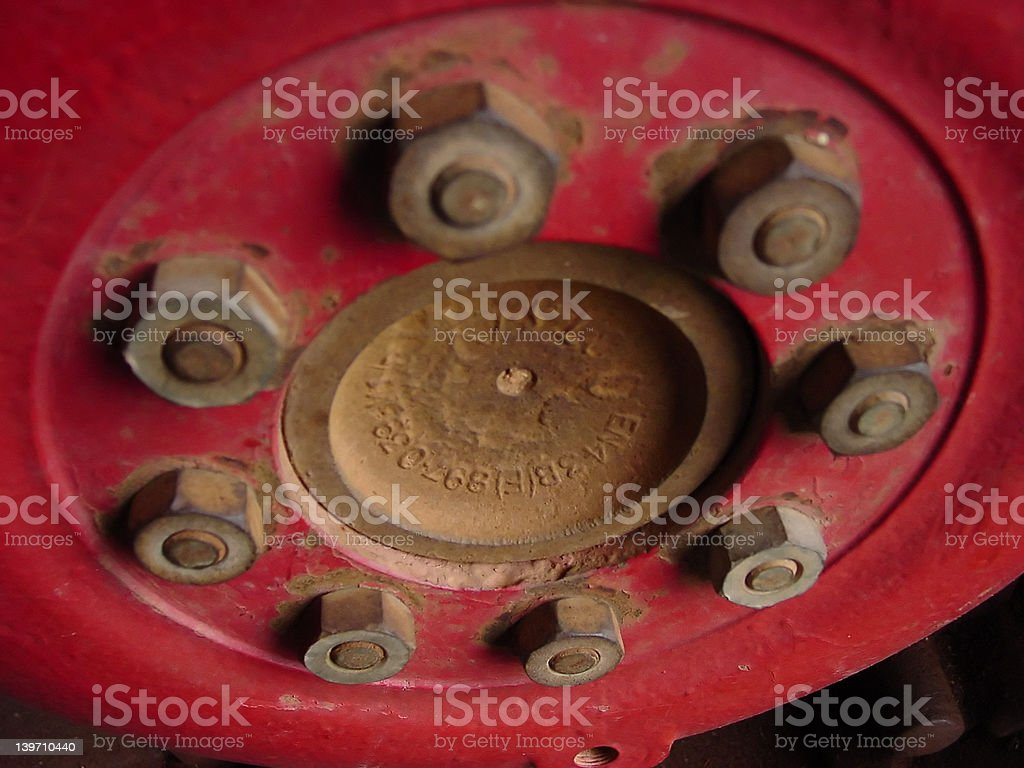 Tractor Tire royalty-free stock photo