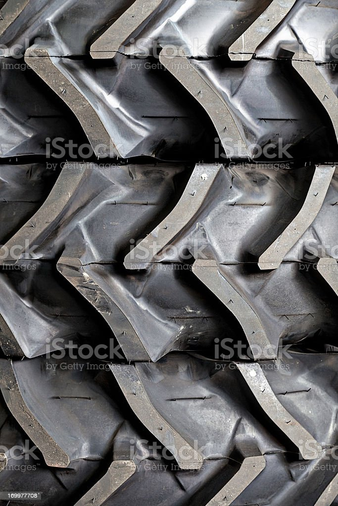 Tractor tires royalty-free stock photo