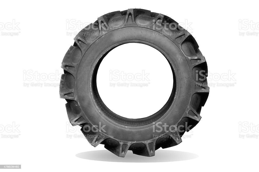 tractor tires stock photo