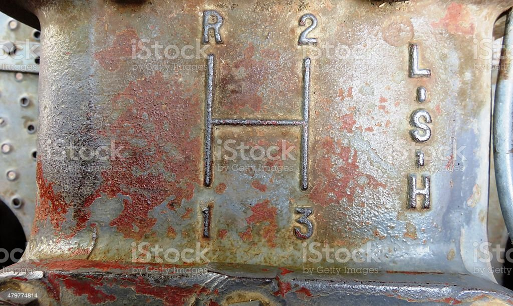 Tractor Transmission stock photo
