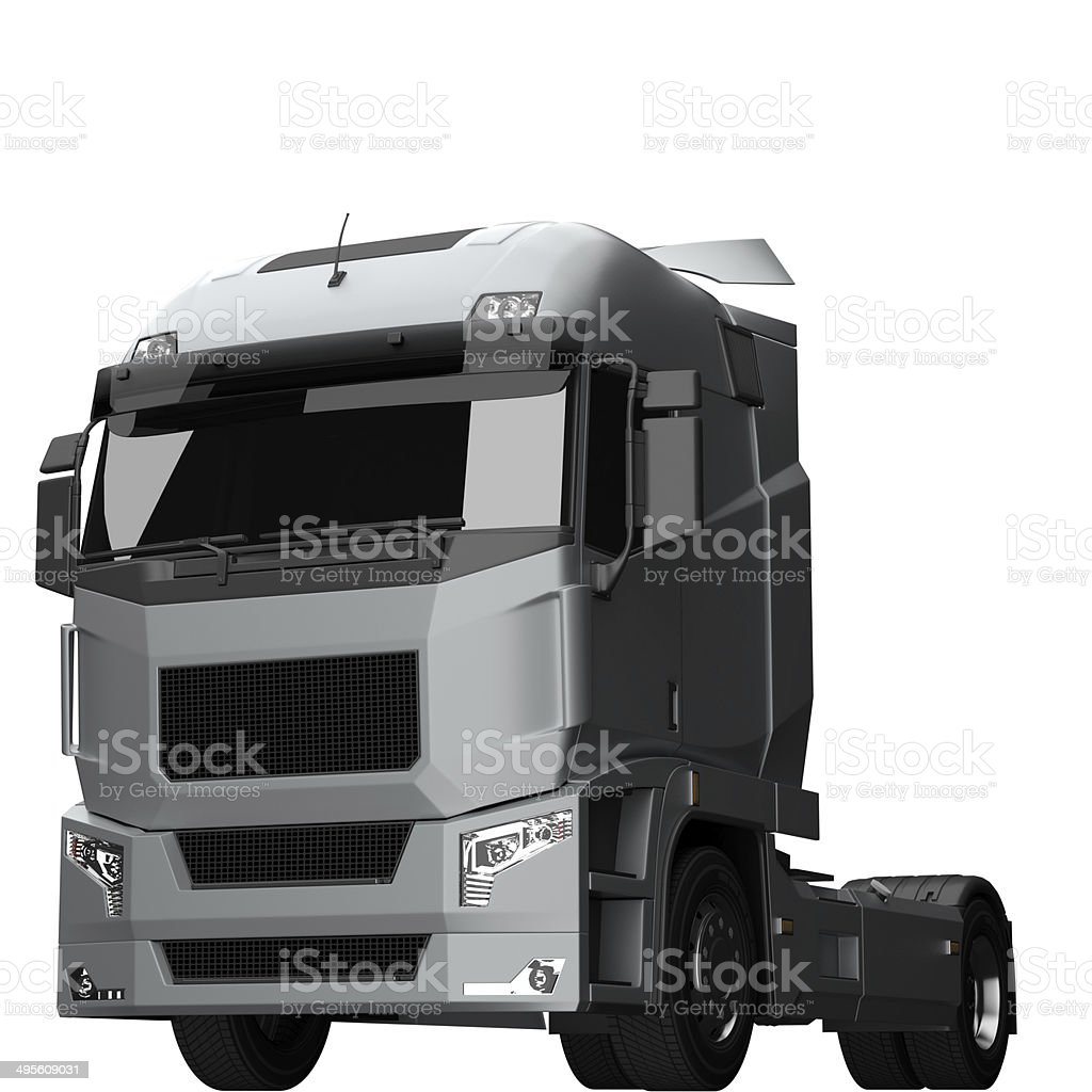 Tractor Unit royalty-free stock photo
