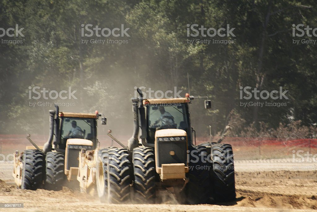 Tractors royalty-free stock photo