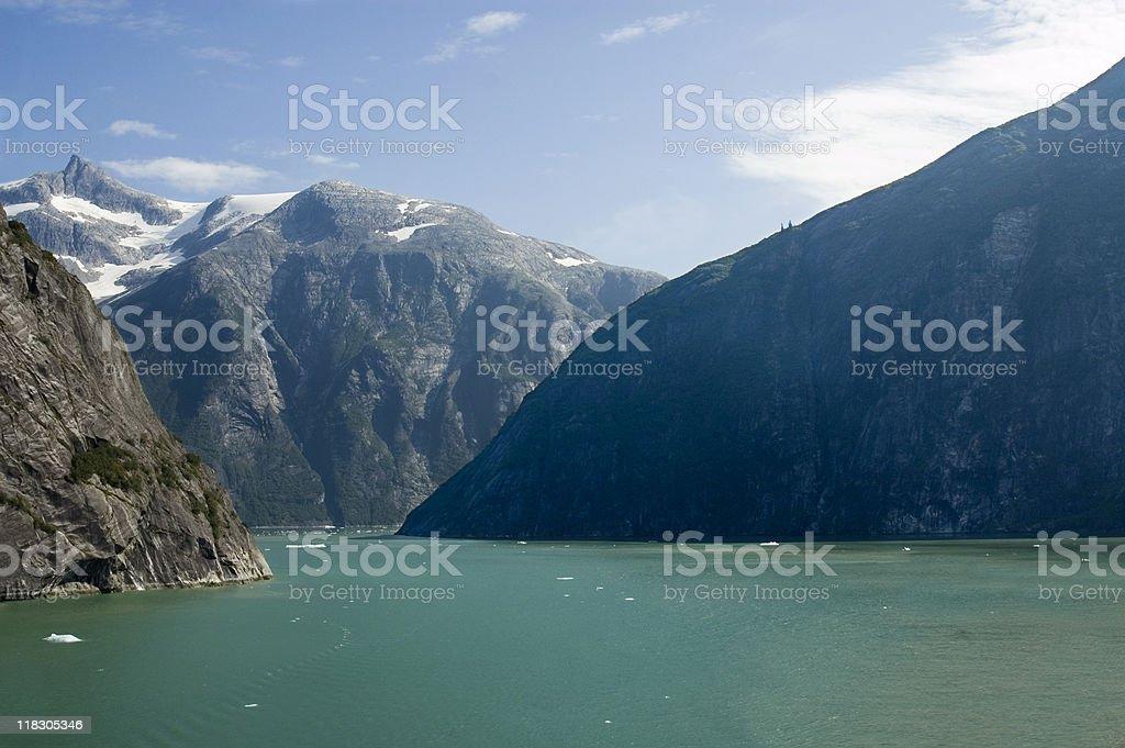 Tracy Arm Fjord, Alaska stock photo