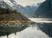 Tracy Arm Fjord, Southeast Alaska, USA