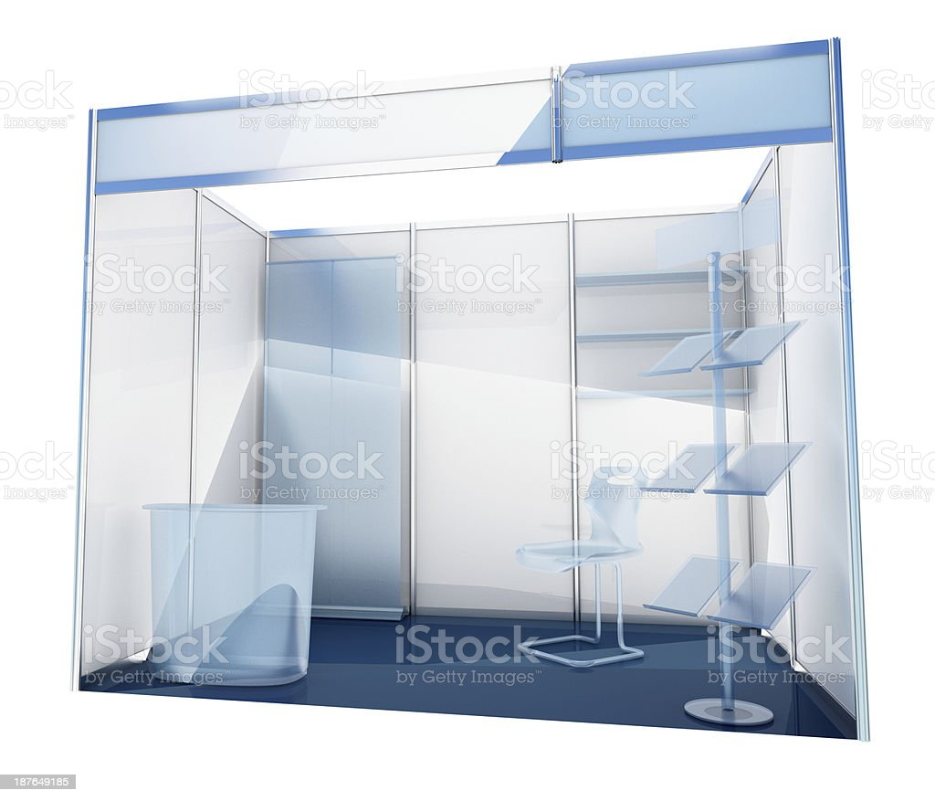 Trade box stock photo