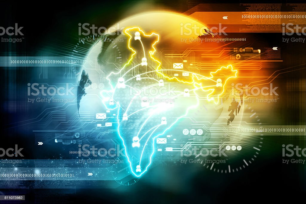 Trade networking stock photo