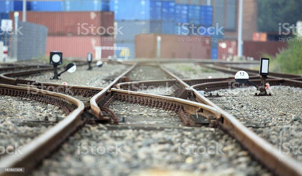 trade on rails royalty-free stock photo