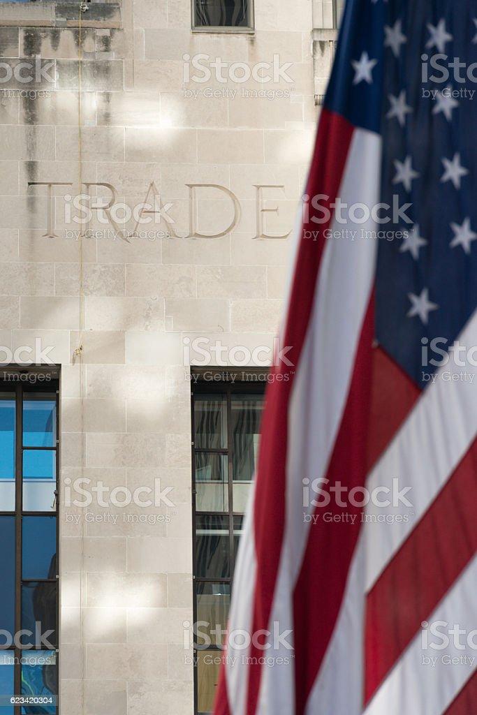 USA Trade stock photo