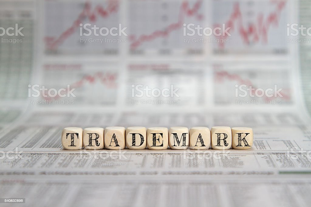Trademark stock photo