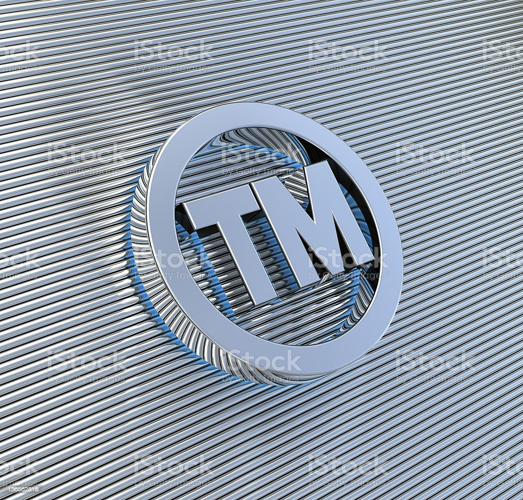 Trademark Symbol stock photo