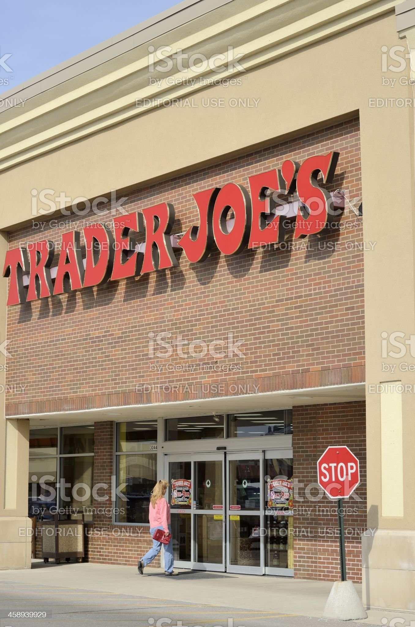 Trader Joe's royalty-free stock photo