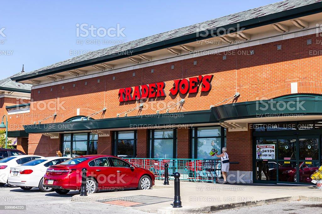 Trader Joe's Retail Strip Mall Location I stock photo