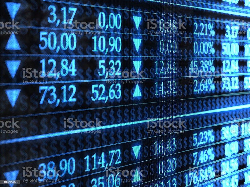 Trader royalty-free stock photo