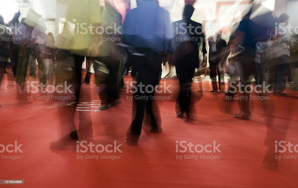 Tradeshow exhibition stock photo
