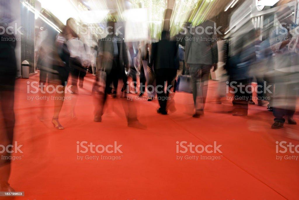 Tradeshow exhibition stock photo