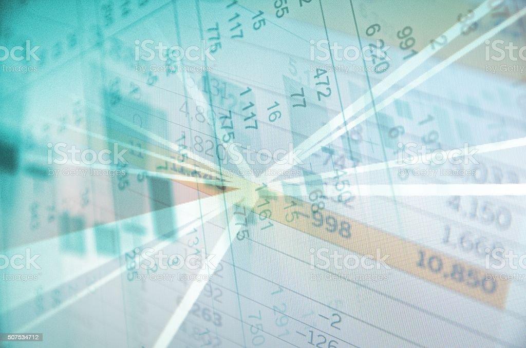 Trading platform stock photo