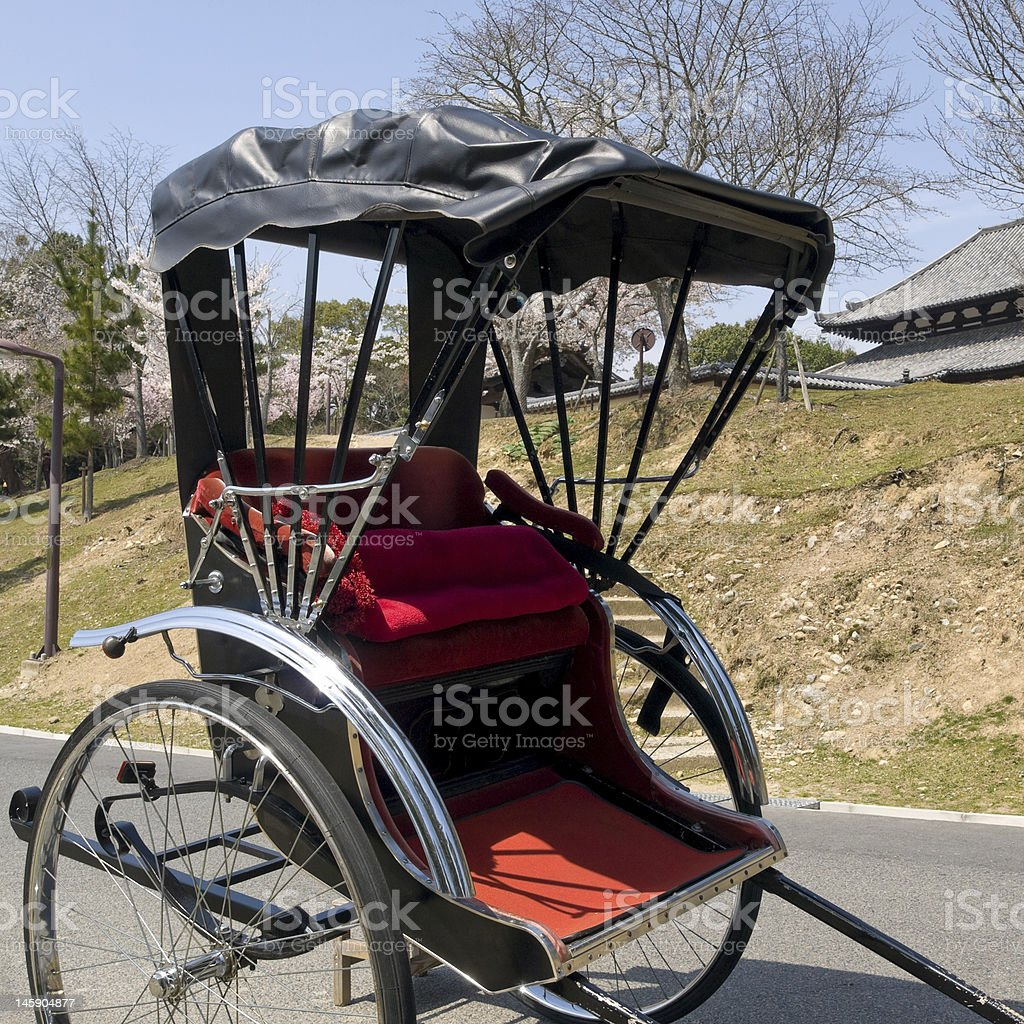Tradional carriage royalty-free stock photo