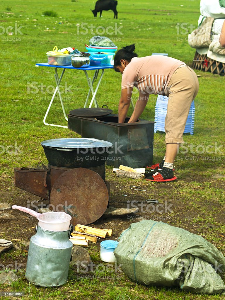 Traditiional kichen royalty-free stock photo