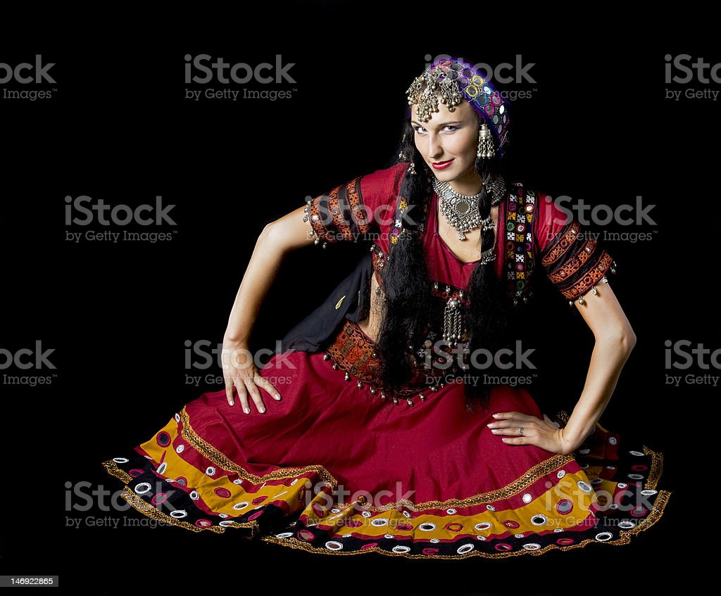 Tradition indian dress royalty-free stock photo