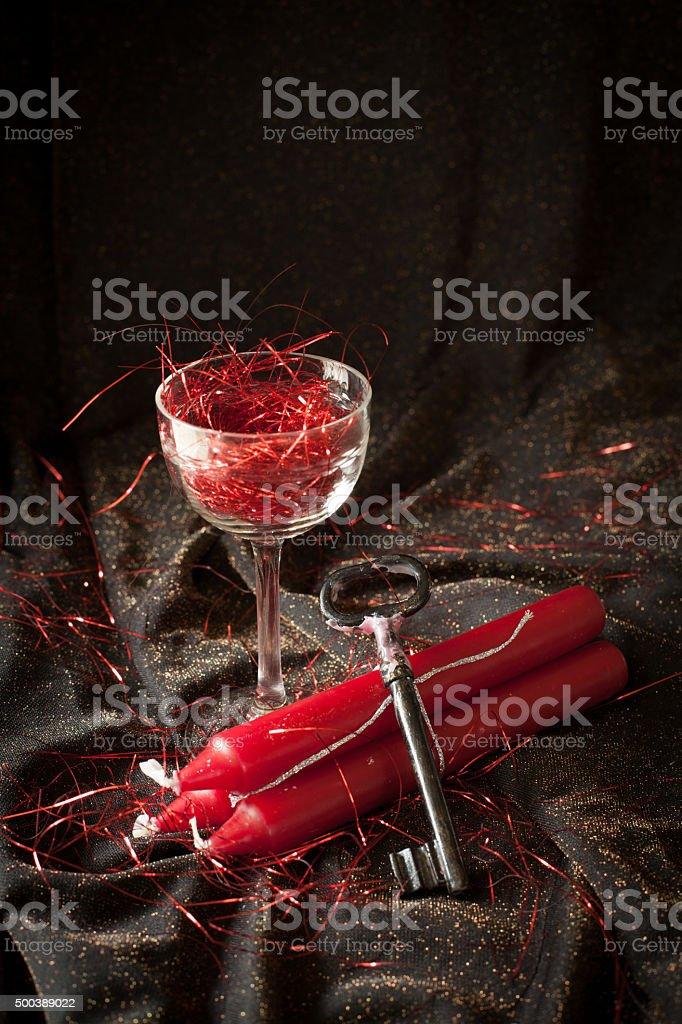 tradition polish wax stock photo