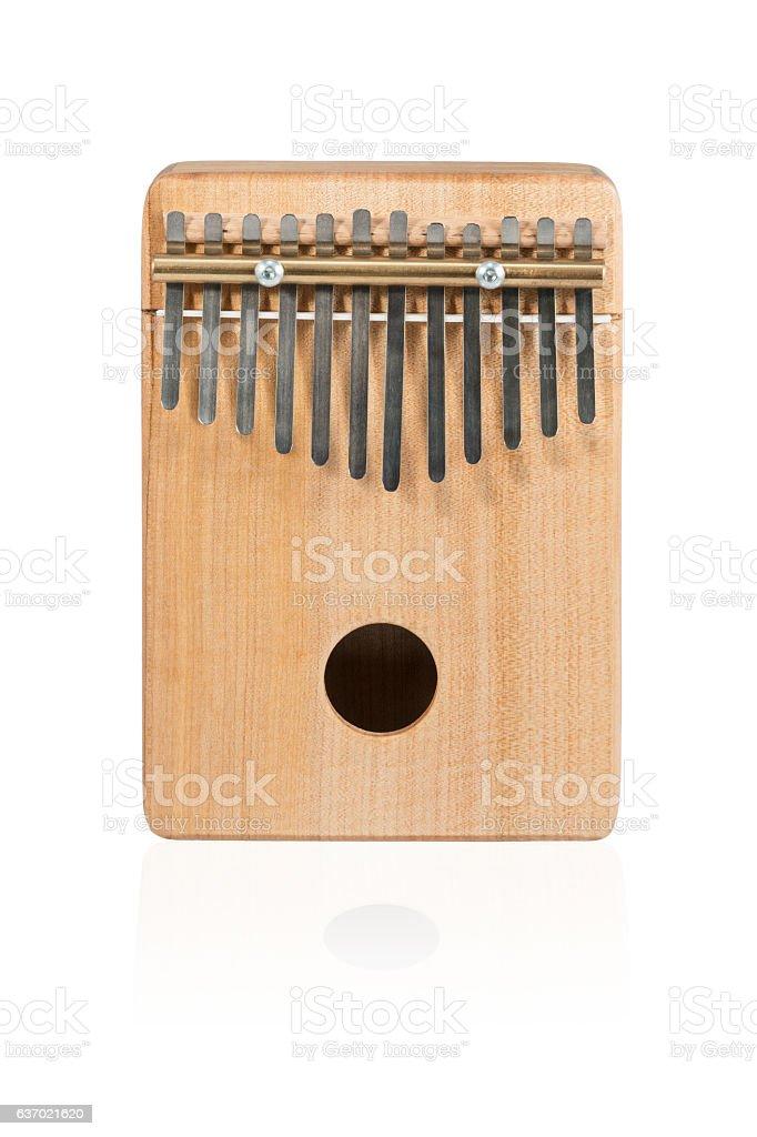 Traditional African instrument Kalimba stock photo