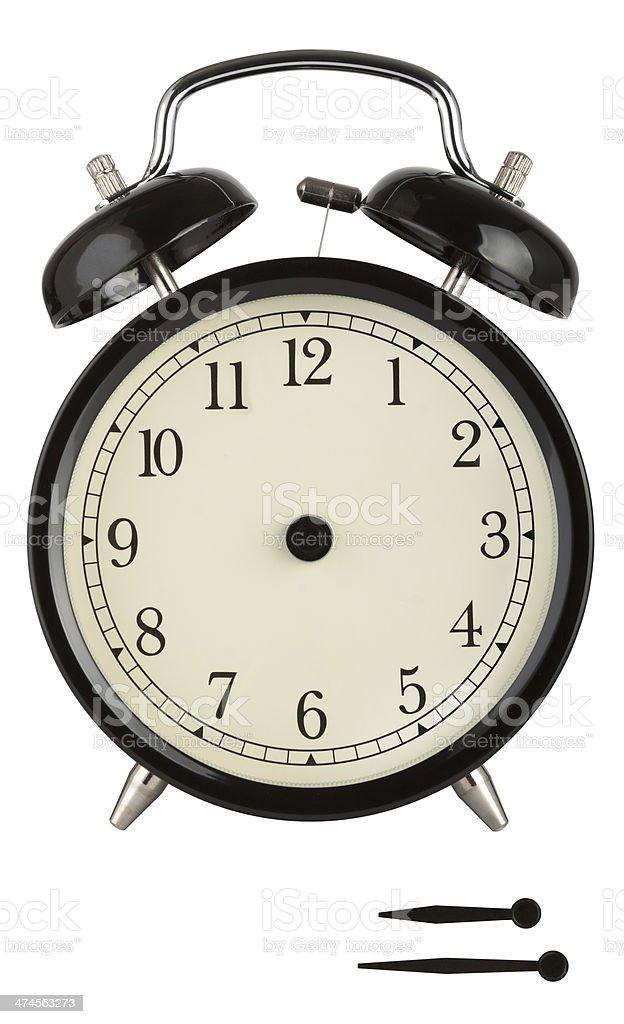 Traditional Alarm Clock stock photo