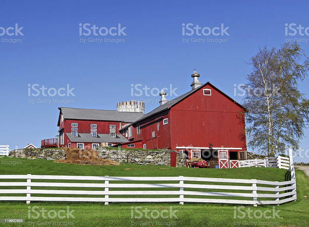 Traditional American Farm royalty-free stock photo