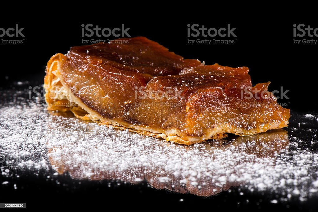 Traditional apple pie stock photo