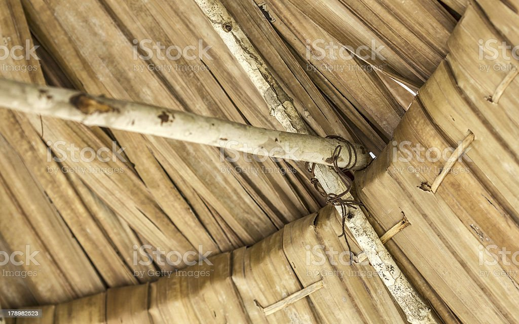 Traditional architecture in Malaysia stock photo