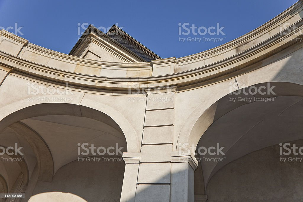 Traditional architecture stock photo